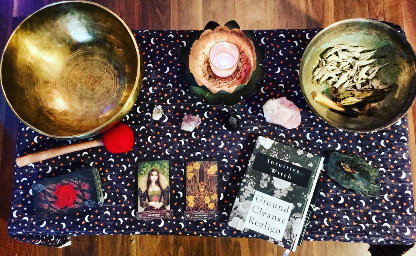 Livestream with Astrea Taylor About Intuitive Witchcraft